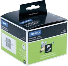DYMO LabelWriter hvide universal etiketter, 57x32 mm, 1-pack(1000 stk.