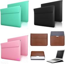 "Macbook air/pro 13"" datorfodral i läder"