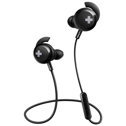 Philips Bass+ trådlösa in-ear Hörlurar SHB4305
