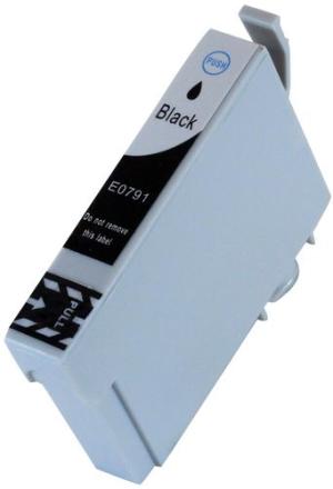 T0791 Blekkpatron svart for Epson