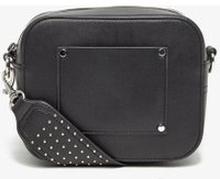 BIANCO Bred Rem - Crossover-väska Man Svart