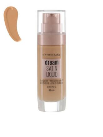 Foundation - Nude Maybelline New York Dream Satin Liquid Foundation