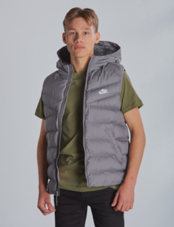Nike, VEST FILLED, Grå, Jakker/Fleece för Gutt, S