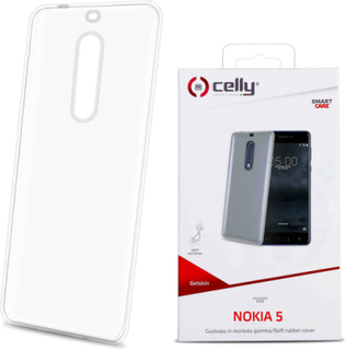Celly™ nokia 5 mobilskal transparent