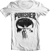 Marvel's The Punisher Big Skull Wide Neck Tee, Wide Neck Tee