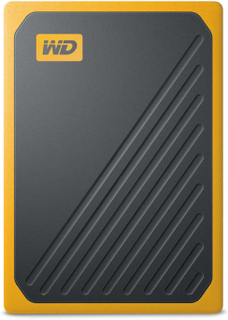 WD My Passport GO SSD 500GB Svart/Gul
