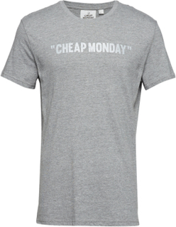 Standard Tee Cheap Review T-shirt Grå Cheap Monday