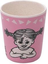 Pippi Bamboo Melamine Tumbler 8x20cm Pink