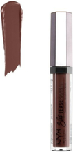 NYX Professional Makeup Slip Tease Lip Lacquer Läppstift Shady