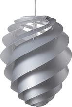 Le Klint - Swirl 2 Loftslampe Medium, Sølv