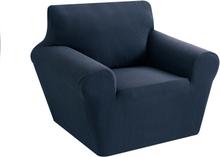 1/2/3 Sitzer Elastic Universal Sofabezug Gestrickte, dicke Stretch-Schonbezüge für Wohnzimmer Couchbezug Sesselbezug