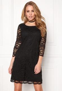 Happy Holly Lina lace dress Black 34