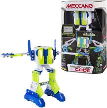 Meccano Personlig robot Micronoid Code Zapp grön 6040126