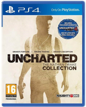 Uncharted: The Nathan Drake Collection - Sony PlayStation 4 - Samlinger