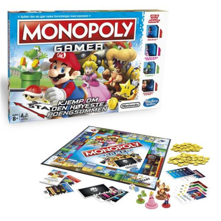 Monopoly Gamer (Norsk)