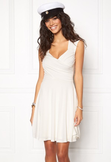 Chiara Forthi Kirily White Dress White L (EU42)