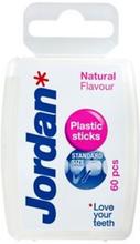 Jordan Tandstikker Plastik 60 stk
