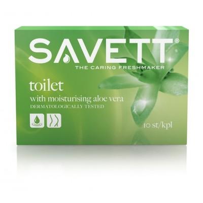 Savett Toilet Wet Wipes 10 stk