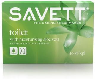 Savett Toilet Wet Wipes 10 st