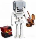 Lego Minecraft - Stor Skeletfigur Med Magmakubus - 21150 - Gucca