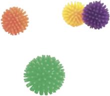 Beeztees Lekbollar, blandade färger, 4st, 3.5cm