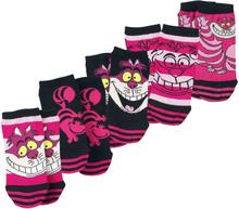 Alice in Wonderland - Filurkatten -Sokker - rosa, svart