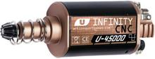 Infinity CNC U-45000 Motor - lang aksel