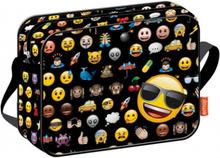 Emoji Icon Axelväska Skolväska 38 x 29 x 9 cm