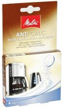 Melitta Melitta Anti Calc avkalkningstablett, 4 st 96058MEL Replace: N/AMelitta Melitta Anti Calc avkalkningstablett, 4 st