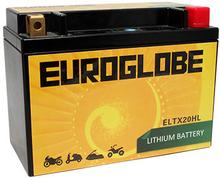 12V ELTX20HL LITHIUM MC-batteri 7Ah 175 x 87 x 155 mm