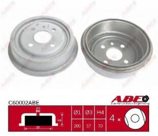Bremsetrømmel ABE C60002ABE
