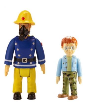 Brannmann Sam figur - Sam og Georg
