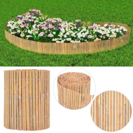 vidaXL havehegn bambus 1000 x 30 cm