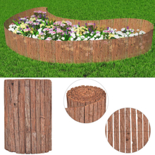 vidaXL Stängsel bark 1000x50 cm