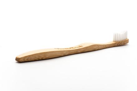 Humble Brush Bambu Tandborste Vuxen Vit