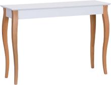 LILLO Konsolentisch 105x35cm - Weiß - Weiß \ 105 cm