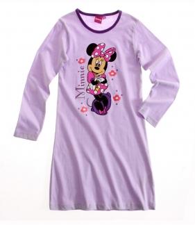 Natkjole - Minnie Mouse lilla