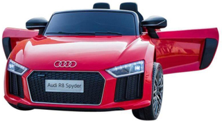 Audi R8 Red Electric Car 12V - Elektrisk bil for barn 000558