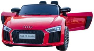 Audi R8 Red Electric Car 12V - Elektrisk bil for barn 000558