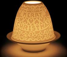 Lladro - Lithophane Votive Light Cutouts Christmas