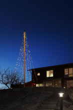 Markslöjd Sken flagstangskæde m/vandfaldseffekt 440 lys, 10+2 meter