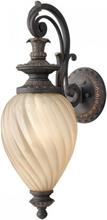 Montreal Væglampe H64,1 cm 1 x E27 - Aldret jern/Rav