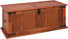 vidaXL Förvaringskista 90x45x40 cm massivt akaciaträ
