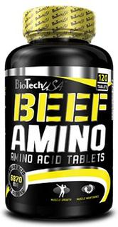 BioTech BEEF AMINO, (120_caps)