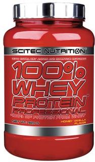 Scitec Nutrition 100% WHEY Protein professional 920 g (Smak: Vanilj vilda bär)