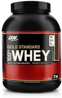 Optimum Nutrition 100% Whey Gold Standard 2,27 kg (Smak: Jordgubb)