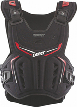 Leatt 3DF Airfit Chest Protector black/red unisize 2020 Bryst- og Ryggbeskyttere