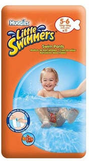 Huggies Little Swimmers Swim Pants 5-6 11 stk