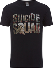 DC Comics Men's Suicide Squad Logo T-Shirt - Black - M