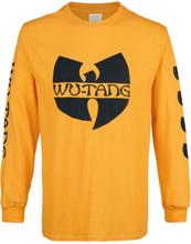 Wu-Tang Clan - Black Logo -Langermet skjorte - gul